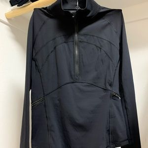 Lululemon 1/4 zip full on luxtreme jacket